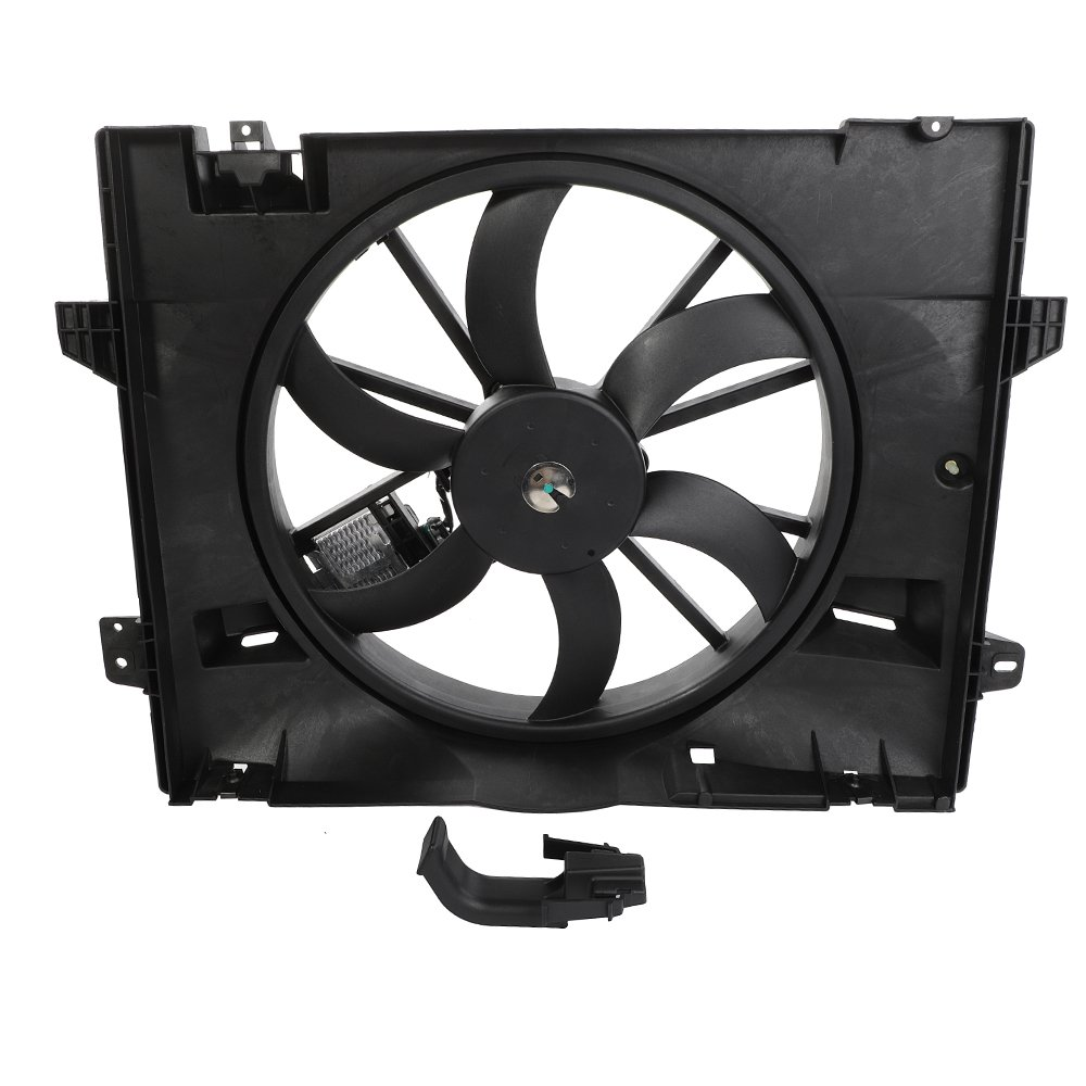 Radiator Cooling Fan Assembly Kit 6621-353 Fit For 06-11 Ford Crown Victoria Lincoln Town Car Mercury Grand Marquis