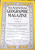 img - for National Geographic Magazine, November 1933 book / textbook / text book