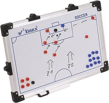 Merco Tableau tactique magn/étique pour hockey sur glace 45 x 30 cm