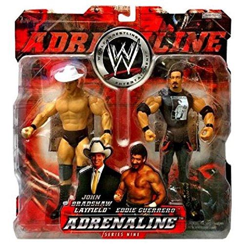 John Bradshaw Layfield vs Eddie Guerrero Adrenaline Series 9 WWE Action Figures