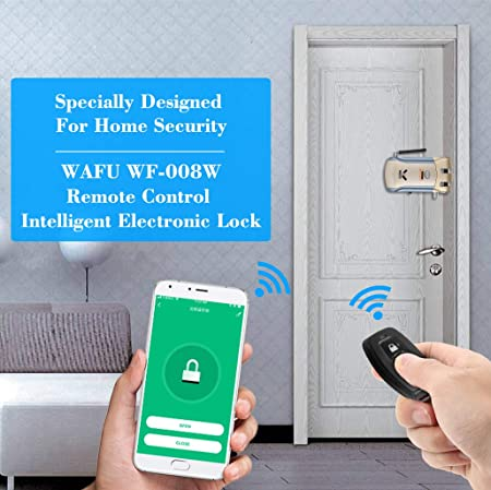 Remote Programmable Keyless Intercom Electronic Lock