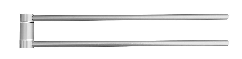 Keuco 14918170000 Handtuchhalter Plan, silber-eloxiert, 438 mm