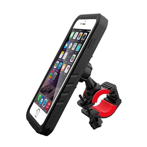 new arrival eb036 43739 Amazon.com: iPhone 7 Plus Waterproof Case & Bike Mount Cover ...