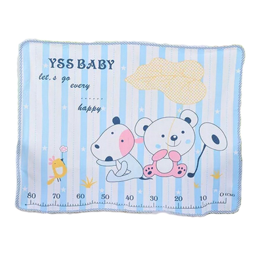 Lovely Baby Reusable Waterproof Infant Home Travel Urine Pad Cover(blue