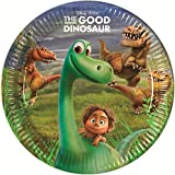 23cm La Bonne Dinosaure Assiettes, Lot de 8