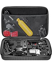 Neewer 10078689 Neewer 10078689 Shockproof Carrying Case for GoPro Hero Session/5 Hero 1 2 3 3+ 4 5 6 7 SJ4000 5000 6000 APEMAN WiMiUS Rollei QUMOX and Accessories,Black