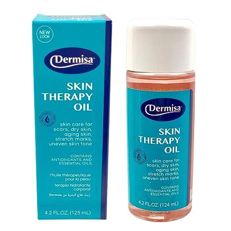 Amazon.com: Dermisa Scars, Dry Skin, Stretch Marks Therapy Oil, 4.2 Fl Oz: Beauty