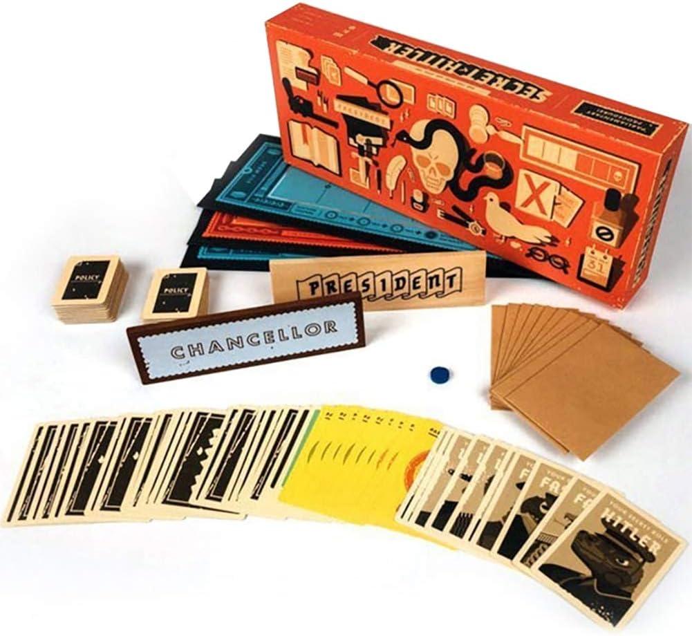 Secreto Hitler Juegos De Cartas Cartas contra La Humanidad Ocultos Juegos Roles: Amazon.es: Hogar