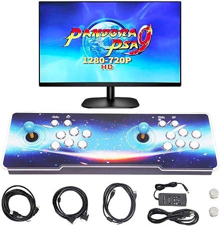 SupYaque Pandora Box Video Arcade Games Console Pandora's Box 9 Built-in  1500 Retro Games,Search Games Function,Favorite List,HDMI VGA USB to  Connect ...