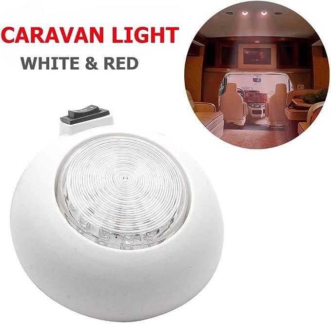 MASO - Foco LED de techo para caravana, autocaravana, 12 V, color ...