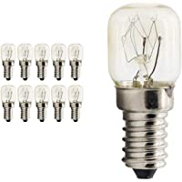 10Pcs E14 Salt Lamps Globe Bulb 25W 240V Oven Light Bulbs Heat Resisting 300℃ AU