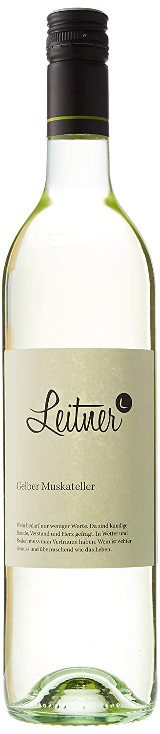 Leitner Amarillo Moscatel Vino Blanco 2017-750 ml: Amazon.es ...