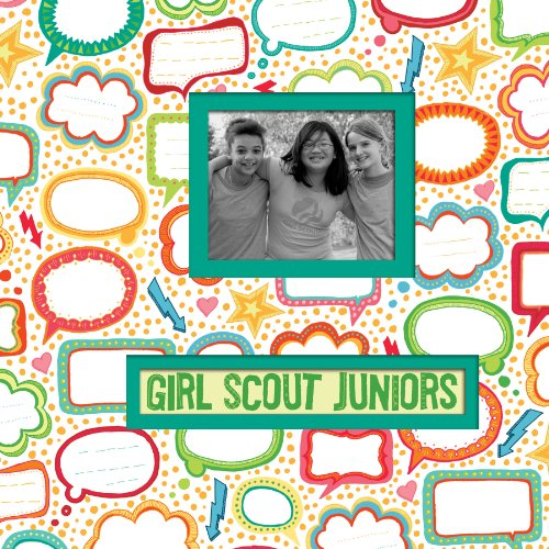(K&Company Girl Scout Frame A Name 12-by-12-Inch)