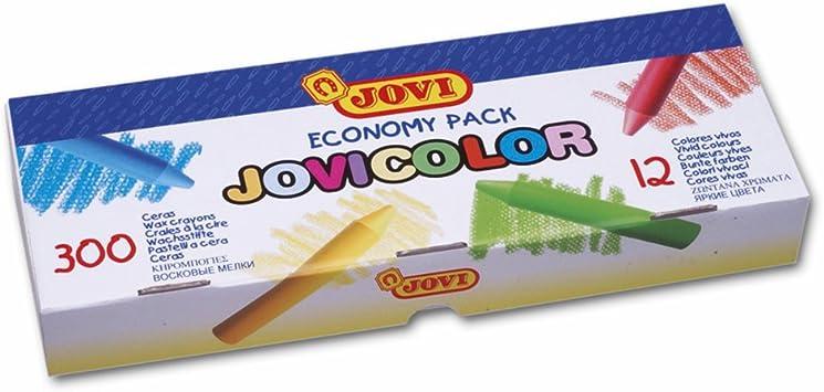Jovi - Caja económica con 300 ceras surtidas (989): Amazon.es: Juguetes y juegos