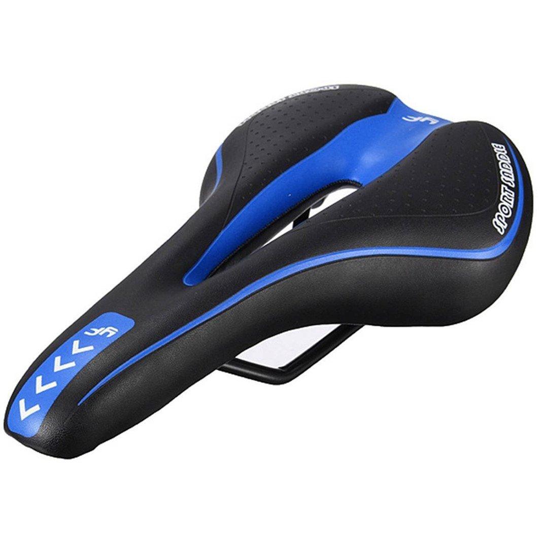 Black blueee Bicycle Saddle Bicycle Seat Gel Mount Bike Saddle Bicycle Racing Bicycle Saddle