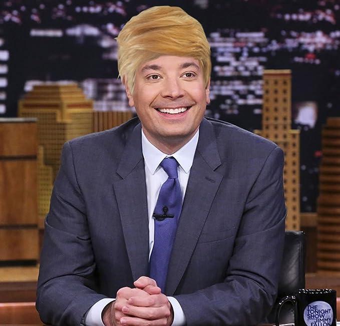 Amazon.com: ALLAURA Donald Trump Wig | Halloween Costume Blonde ...