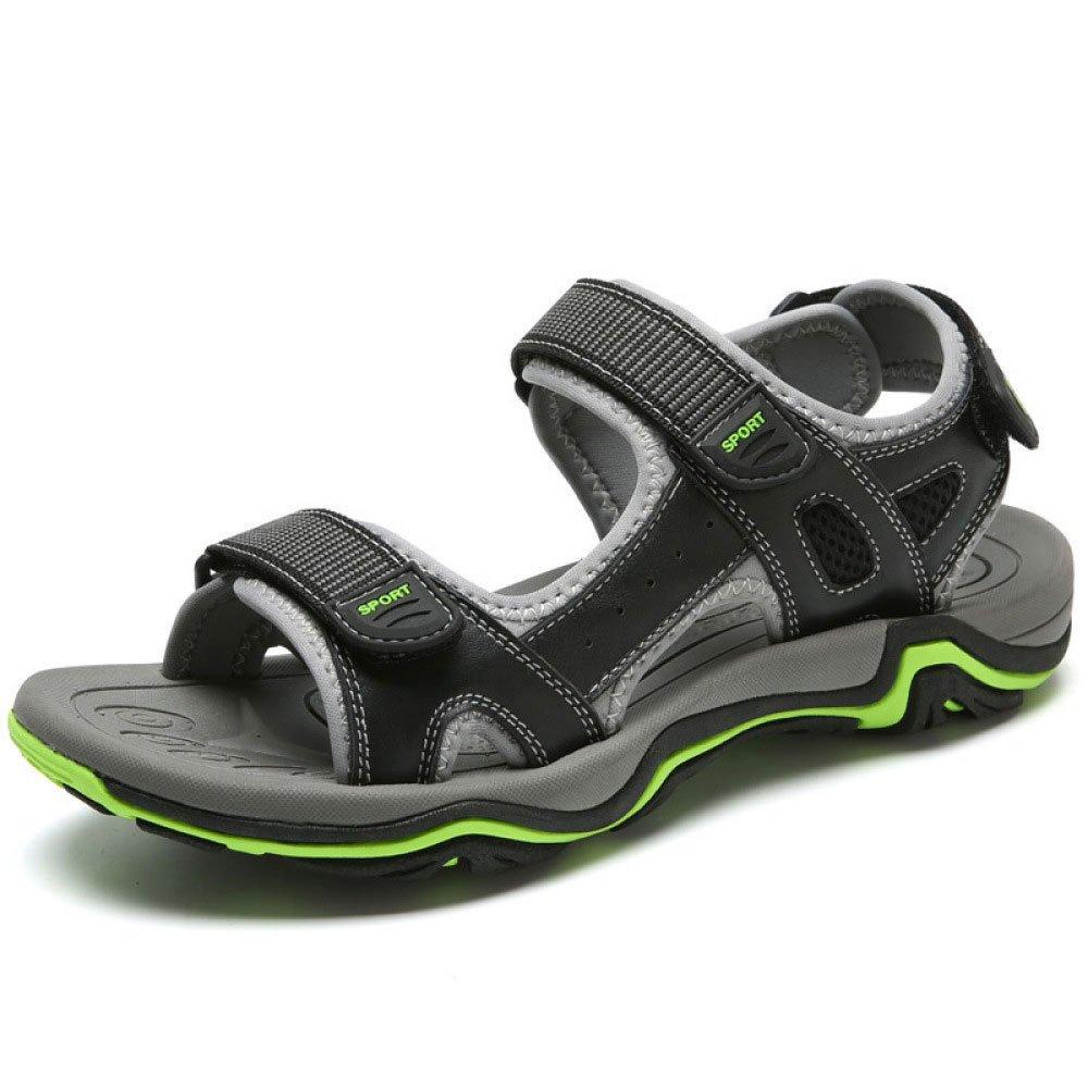 Sandalias Casuales De Moda De Verano Sandalias Sandalias De Velcro Ligeras 38 EU Black