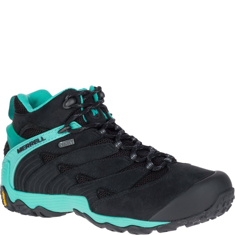 Merrell Women's Chameleon 7 Mid Waterproof Hiking Shoe B071JMKVMN 6.5 B(M) US|Ice