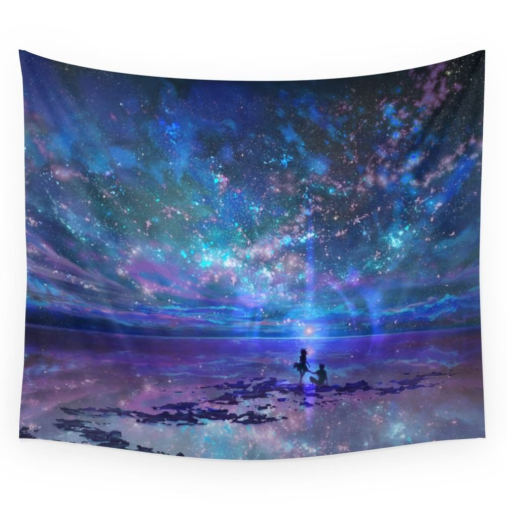 Society6 Ocean, Stars, Sky, And You Wall Tapestry Small: