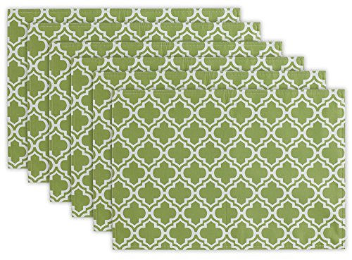 DII 100% Polyester Placemat, Reversable & Spill Proof for Indoor or Outdoor Use, Perfect for BBQs, Backyard Parties, Cookouts, & Family Gatherings (13x19