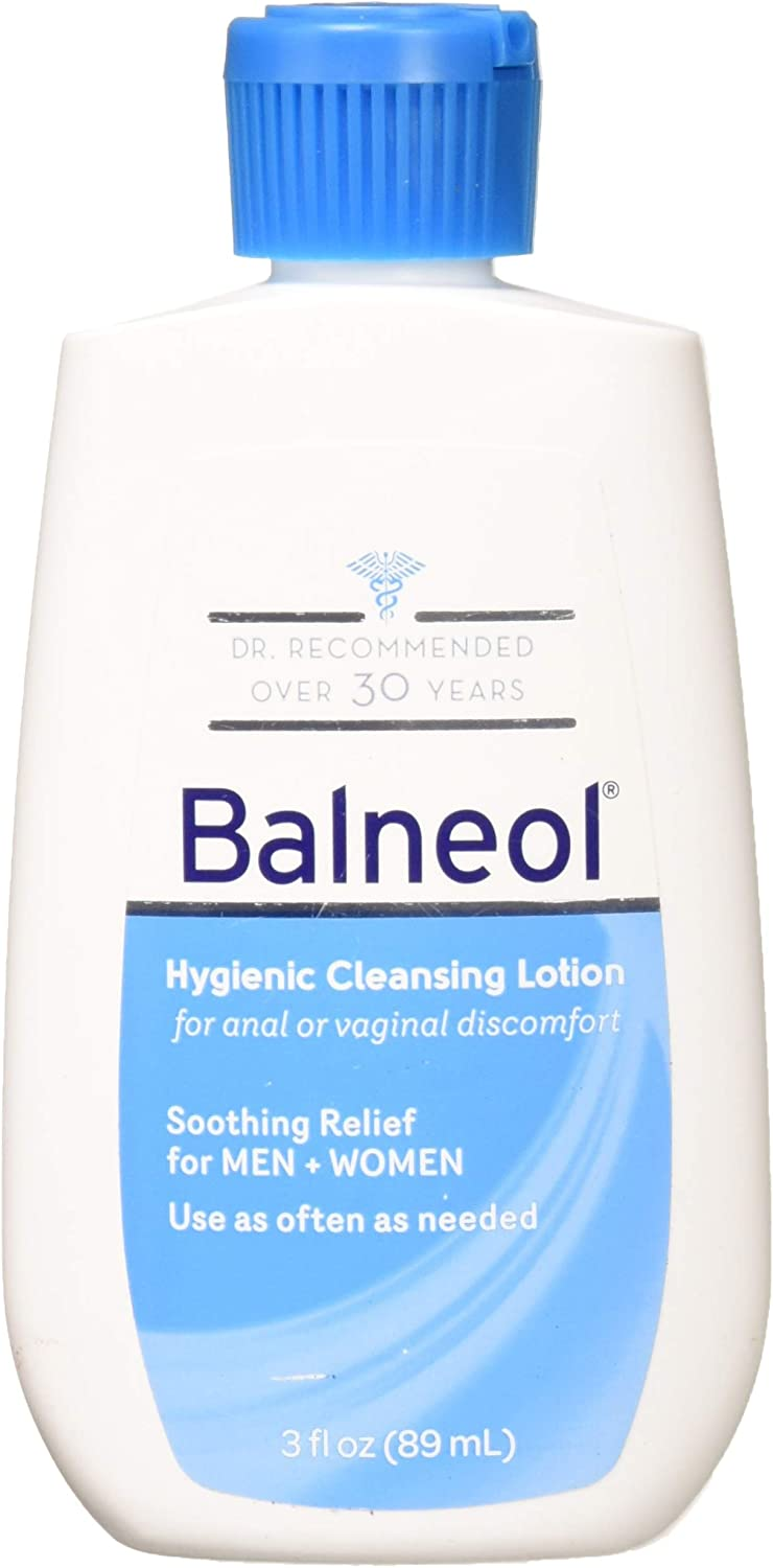 Balneol Hygienic Cleansing Lotion 3 oz (Pack of 2): Health & Personal Care