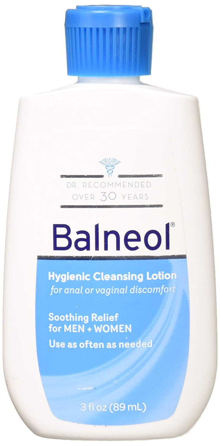 Balneol Hygienic Cleansing Lotion 3 oz (Pack of 2)