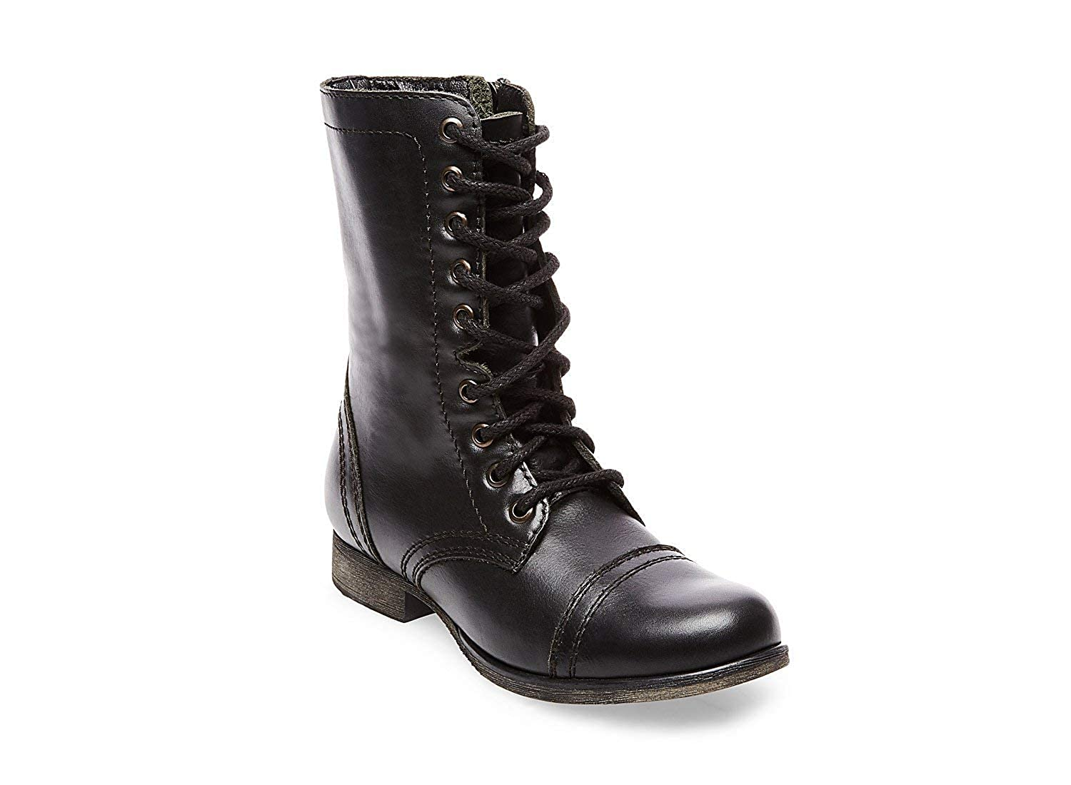1a47bbaf48b Steve Madden Women's Troopa Lace-Up Boot