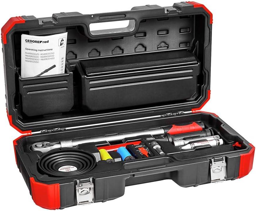Drehmomentschl/üssel 40-200 Nm GEDORE red Rad-Montage-Set im Kunststoffkoffer