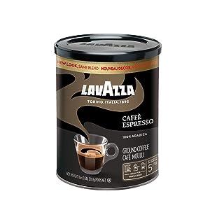 Lavazza Caffe Espresso - Ground Coffee, 8-Ounce