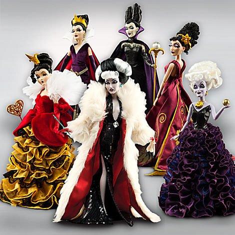 Buy disney designer villains set