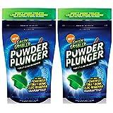 Green Gobbler GGPPTCR POWDER PLUNGER Toilet Bowl Clog Remover - 2 Pack Net WT 16.5 oz