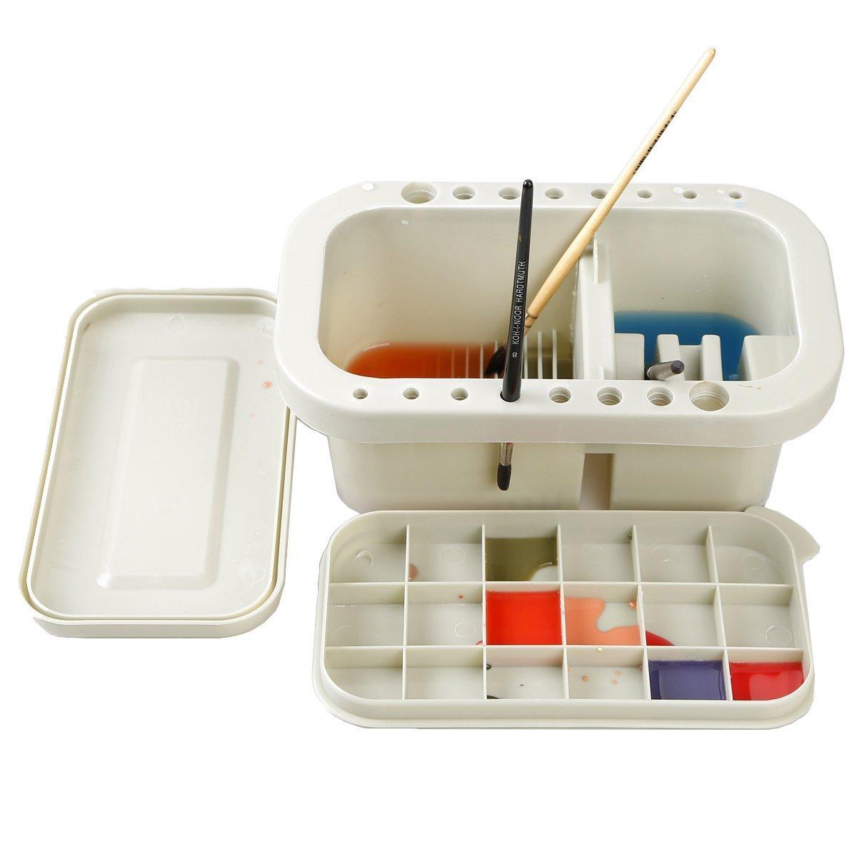 acquerello pennello lavandino progettato a bagno spazzole in soluzione, forma spazzola e tenere dotato di miscelazione pallet Gaocheng