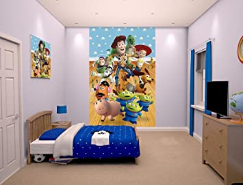 Walltastic Toy Story Poster Mural, Multi Colour