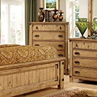 247SHOPATHOME Idf-7449C Drawers, chest, Weathered Elm