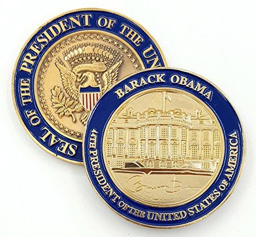 (President Barack Obama Personal Signed Challenge)