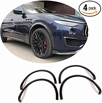 Real Carbon Fiber Outer Door Handle Cover Trim For Maserati Levante 2016-2018