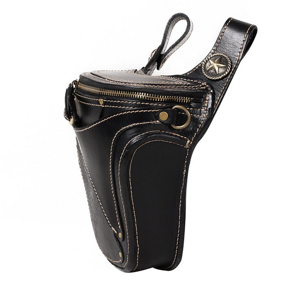 Genda 2Archer Cool Retro Rock Style Waist Bag Leather Utility Belt Hip Purse Bumbag by Genda 2Archer