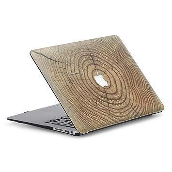 6f79ce1f260 Funda Dura MacBook Air 13 Caso,AQYLQ Plástico Hard Shell dura de goma con  Protector
