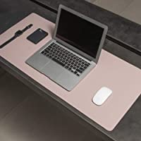 Mouse Pad Desk Pad Max em Couro Ecologico 70x30cm - WORKPAD (Rosa)