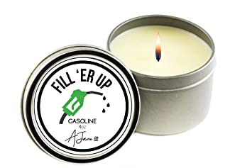 Amazoncom Novelty Collection All Natural Scented Candleclean
