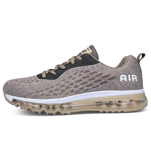 Axcone Hombre Mujer Zapatillas de Correr Casual Aire Libre Deporte Fitness Zapatillas de Running para Deportivos Entrenamiento-Múltiples Colores 35EU-45EU: ...