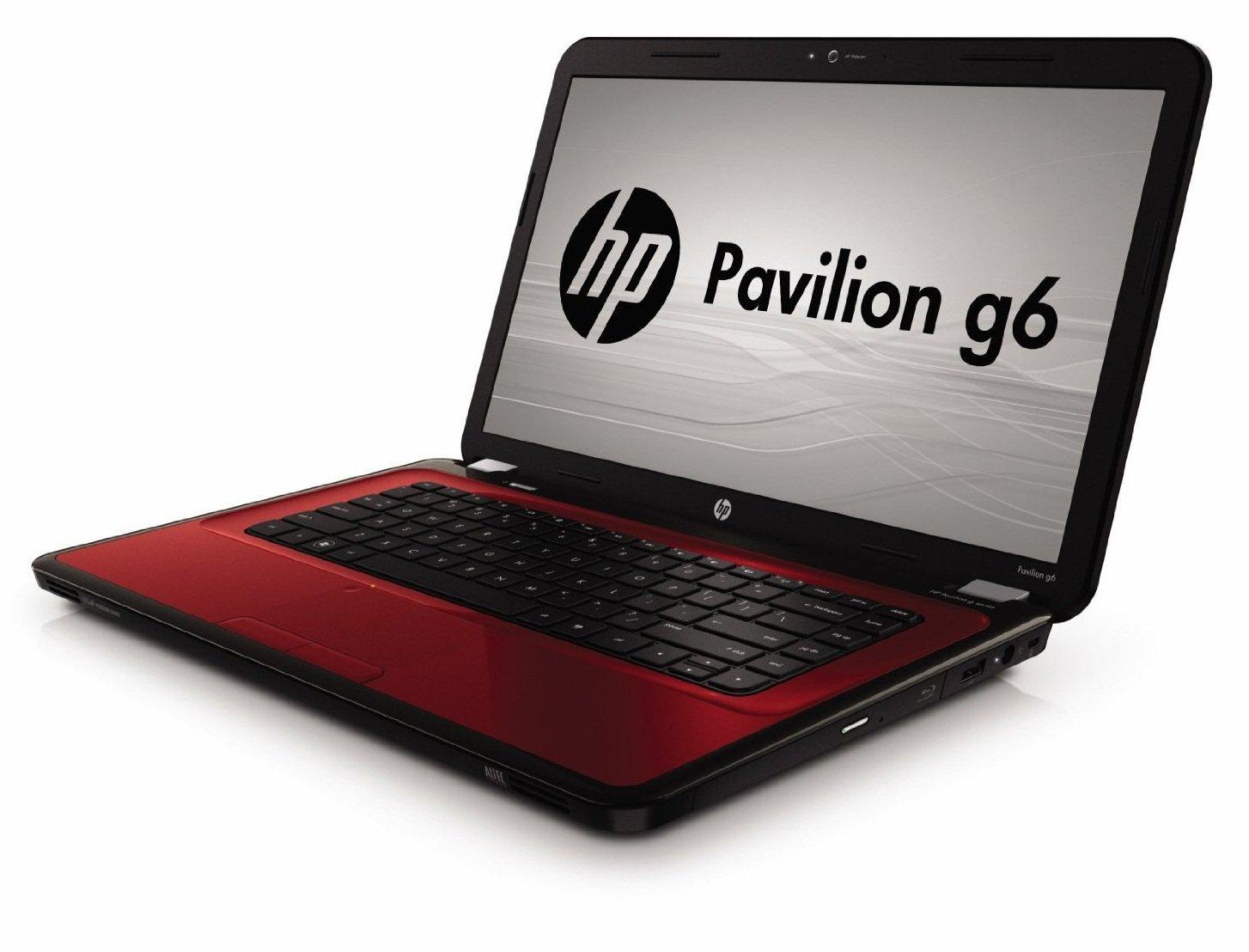 HP Pavilion g6-1110ss Rojo Portátil 39,6 cm (15.6