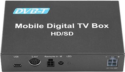 Caja De Tv Digital, Dvb-t Hd/Sd Caja De Tv Móvil Sintonizador De ...