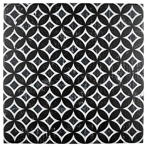 - SomerTile FCG12DDA Moira Porcelain Floor and Wall, 12.13