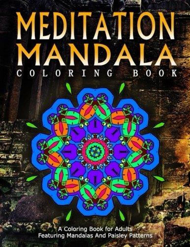 MEDITATION MANDALA COLORING BOOK - Vol.20: women coloring books for adults (Volume 20)