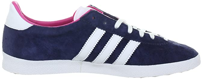 adidas Originals Gazelle OG W v25020 Chaussures Femme - - Blau (Marine/Running White FTW/Bloom),
