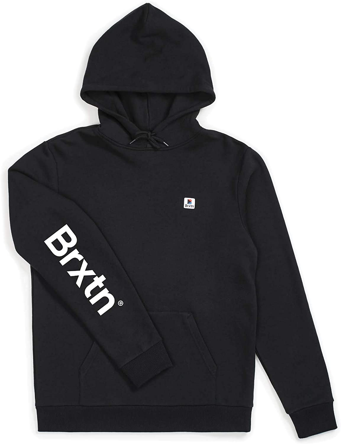 BRIXTON Mens Stowell VII Relaxed Standard Fit Hooded Fleece