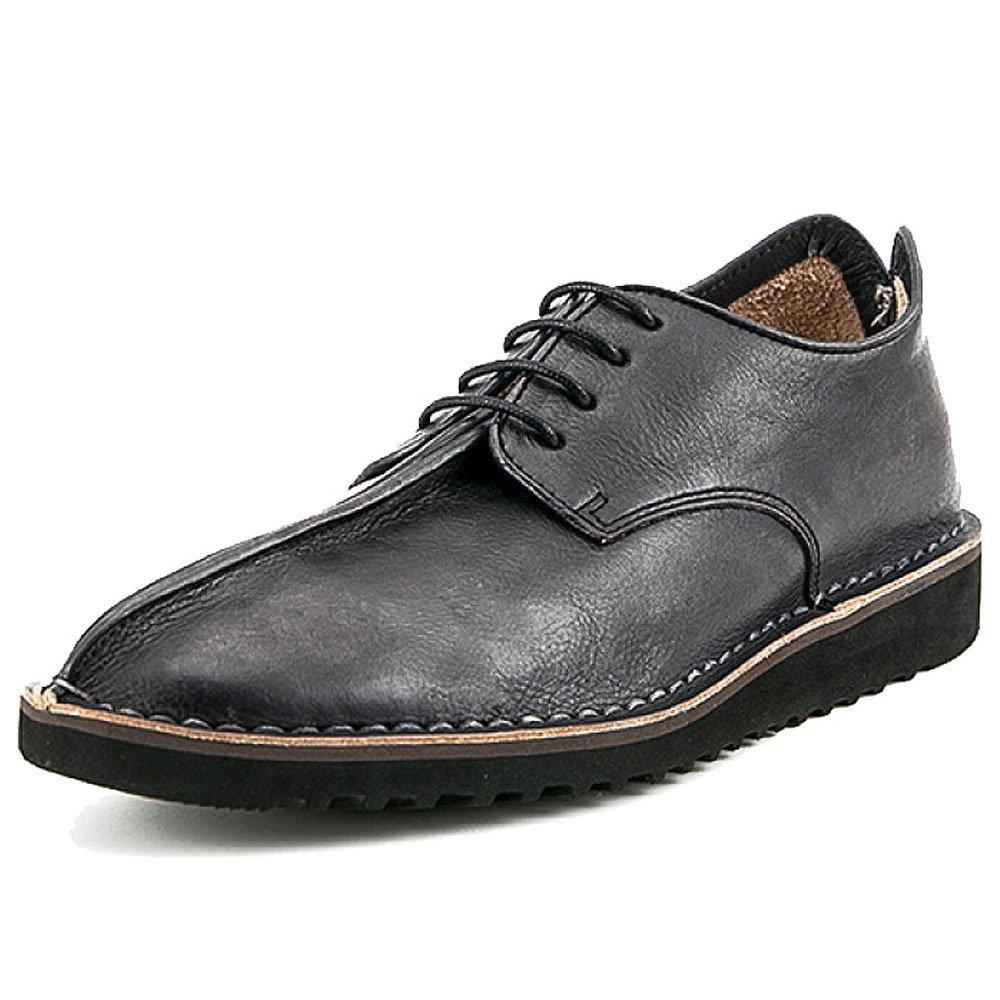 ZPJSZ Männer England Geschäft Freizeit Jahreszeiten Mode Jugend Spitze Spitze Spitze Lederschuhe,schwarz-38 32e558