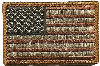 Amazon.com  Tactical USA Flag Patch - Subdued Red White Blue by ... 3294287e02f