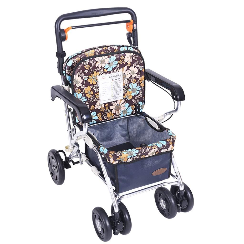 人気TOP 歩行器 歩行器/折りたたみ式歩行器 歩行器/車椅子/買物車/押しやすい車の軽量/携帯用買物車 Blue)/高齢者のトロリー B07M64VBMK/スクーター/歩行器/ 100kgの高齢者に耐える携帯用耐荷重を置くことができます (Color : Blue) Blue B07M64VBMK, ウィッグの専門店ウィッグランド:9fc47ac1 --- a0267596.xsph.ru